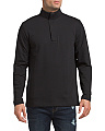 Modern French Terry Quarter Zip Top