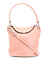 Rfid Borrego Lainy Leather Bucket Bag