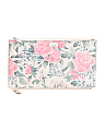 Lani Floral Leather Pouch