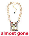 Handmade 18k Gold Plated Mel Mother Of Pearl Necklace