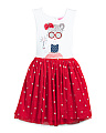 Toddler Girls Americana Tutu Dress