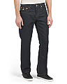 Flap Pocket Straight Leg Jeans