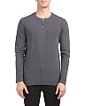 Standard Long Sleeve Henley
