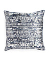 Made In USA 22x22 Comtemporary Pillow