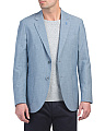 Chambray Stretch Sport Coat