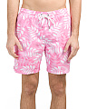 Printed Swim Trunks