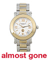 Women's Swiss Made Parisii Two Tone Bracelet Watch