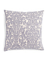 20x20 Ikat Wallpaper Pillow