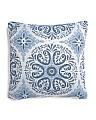 24x24 Ricarda Medallion Pillow