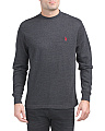 Long Sleeve Heather Thermal Shirt
