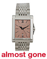 Women's Swiss Made Rectangular Dial Bracelet Watch