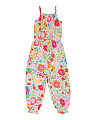 Girls Seasong English Garden Jumpsuit