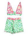 Girls 2pc Boyshort & Bikini Set