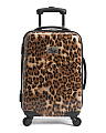 20in Leopard Carry-on Spinner