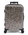 20in Metallic Hardside Spinner Carry-on