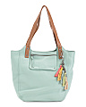 Dahlia Leather Tote