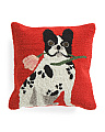 18x18 Indoor Outdoor Frenchy Pillow