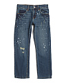 Boys 511 Slim Destructed Jeans