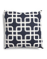 20x20 Textured Geo Pattern Pillow