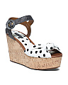 Made In Italy Wedge Sandals