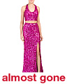 2pc Sequined Gown