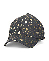 Metallic Star Baseball Cap