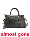 Made In Italy Ring Leather Satchel