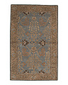 Made In India 5x8 Traditional Wool Area Rug