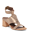 Wrap Ankle Buckle Sandals