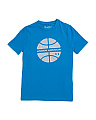 Boys Basketball Short Sleeve T-shirt