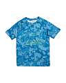Boys Big Logo Hybrid Printed T-shirt