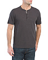 Standard Issue Short Sleeve Henley