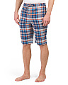 Classic Plaid Sleep Shorts