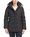 Front Zip Down Quilted Jacket