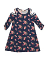 Big Girls Yummy Fabric Floral Dress