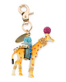 Made In USA Embellished Giraffe Bagcharm