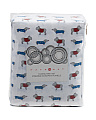 Pup Sweaters Flannel Sheet Set