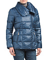 Asymetrical Zip Puffer Coat