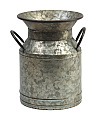 12in Galvanized Flower Bucket