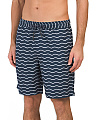 Wave Print Volley Shorts