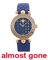 Women's Swiss Made Micro Vanitas Leather Strap Watch