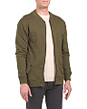 French Terry Bomber Jacket