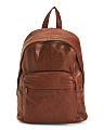 Fairfield Leather Backpack