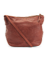 Leather Dayton Crossbody