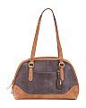 Glendale Distress Leather Satchel