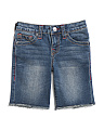 Little Boys Grease Slim Denim Shorts