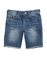 Little Boys Laguna Slim Denim Shorts