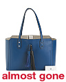 Soho Solutions Leather Shopper Tote