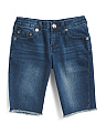 Big Boys Savage Saloon Slim Denim Shorts