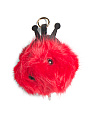 Lady Bug Charging Keychain